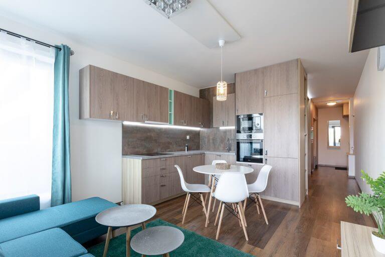 2-izbový byt Tehelné pole - Tyrkys