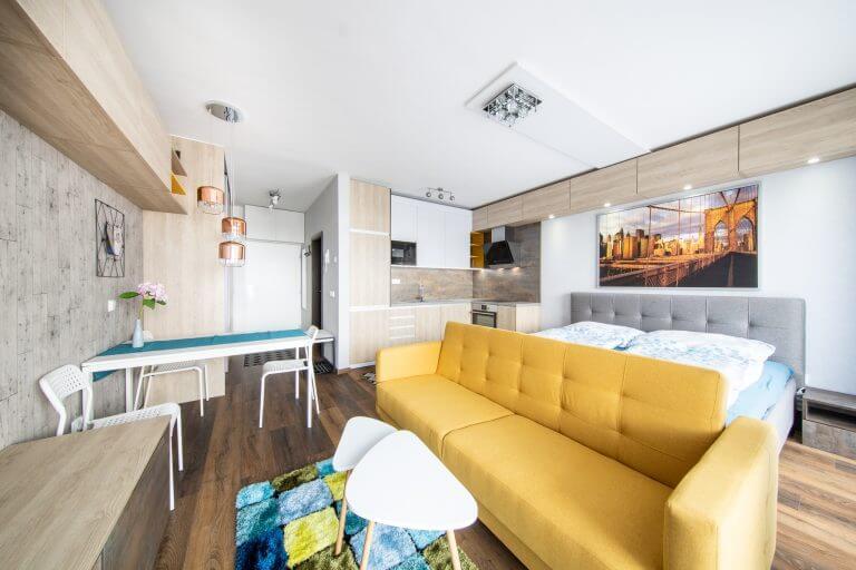 1-izbový byt - Tehelné pole - Opál